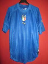 Maillot Italie Shirt PUMA maglia Italia calcio 2005 Football vintage - S