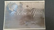 "Vintage WWII Bomber ""Rose of York"" Photo"