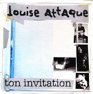 Louise Attaque CD Single Ton Invitation