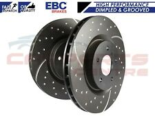 AUDI SEAT SKODA VW FRONT DIMPLED GROOVED BRAKE DISCS EBC HIGH PERFORMANCE 288mm