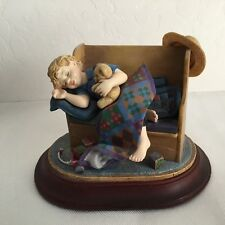 "Amish Heritage Collection ~ 1996 Figurine - Le ~ ""Tuckered Out"" ~ No Box"