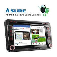 Android 8.0 DVD GPS Navi Autoradio 4GB RAM für VW Passat Golf Jetta Skoda EOS T5