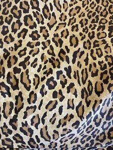 New Ralph Lauren Home ARAGON Queen Size Duvet Cover Leopard Print, France
