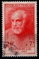 GRANDS HOMMES : BOURDELLE, Oblitéré = Cote 36 € / Lot Timbre France 992