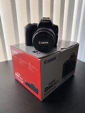 Canon EOS Rebel SL3 24.1MP Digital SLR Camera - Black (with 18-55mm lens)