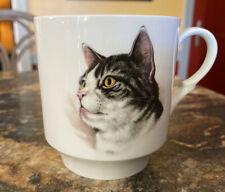 New listing Vintage White Porcelain Cat Cup/Mug Bavaria Schumann Arzberg Germany 7