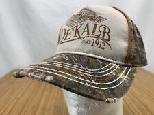 Dekalb Since 1912 Real Tree Camo Distressed Adjustable Hat