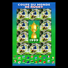 France 1999 - 4th World Rugby Championship Sports - Sc 2737a MNH