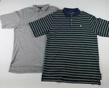 X2 Mens Polo Golf Ralph Lauren Polos Size Large Pima Cotton Short Sleeve 216 217