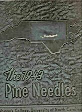 "1943 ""Pine Needles"" - Univ. of NC at Greensboro Yearbook-ALL NAMES IN LISTING! +"