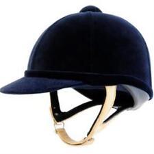 Charles Owen Wellington Classic Velvet Horse Riding Hat Ventilated Helmet