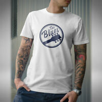 The Blues Mens T-Shirt Rock and Roll Rhythm and Blues Guitar Bass