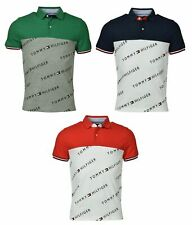 Tommy Hilfiger Men's Classic Fit Performance Logo Polo Shirt