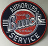 Buick Authorized service    --   embroidered cloth patch.     F040203
