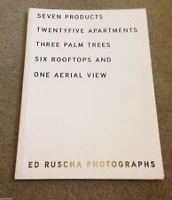 ED RUSCHA PHOTOGRAPHS 2003 GAGOSIAN GALLERY Seven Products Aerial View LIMITED