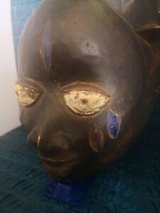 Afrikanische Maske in Holz