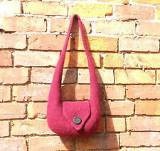 "Knit and felt shoulder bag pattern ""Bridget"""