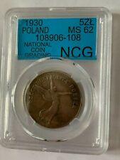 Poland 5 ZL 1930 (nike)