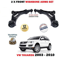 for VW TOUAREG 7L 2003-2010 2x Ant Sx + INFERIORE DX FORCELLA SOSPENSIONE ARMS