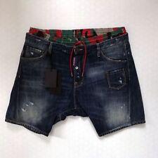 Cotton Denim Loose Fit Shorts for Men