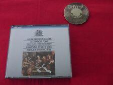 2 CD BOX Harnoncourt Palmer Rolfe Johnson Händel Alexander´s Feast 1984