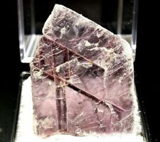 MINERALS : LEPIDOLITE CRYSTAL FROM BRAZIL