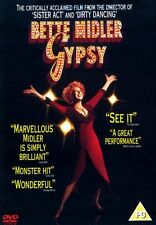 GYPSY DVD - Bette Midler - New & Sealed