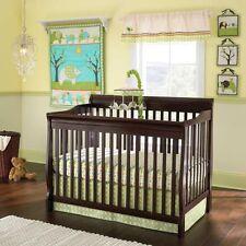 New 7 pcs Laura Ashley Baby Elephant Parade  Nursery Crib Bedding Set NIP
