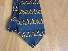 Disney MICKEY Mouse Various Images Polyester Tie
