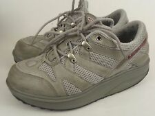 Mens Masai Original MBT Sport 04 Grey Walking Toning Shoes Sz 6 womens sz 8 Used