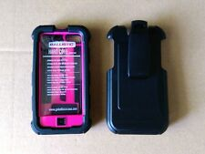 Ballistic Protective I-Phone 5/5S Case Rugged Swivel Holster Clip Hard Core NEW