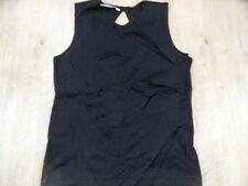 HENNES H&M schönes Glitzershirt schwarz silber Gr. S TOP