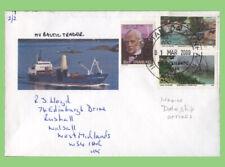 S.A./Tristan Da Cunha 2013 TDC Navire, M.V. Baltic Trader picture cover