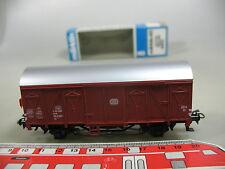 AJ88-0,5# Märklin/Marklin H0/AC 4411 Güterwagen m. Schlusslicht DB, s.g.+OVP