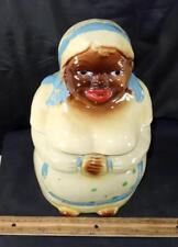 Vintage Black Americana Woman NSCO Cookie Jar !