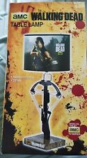 AMC The Walking Dead Daryl Dixon Crossbow Table Lamp * NEW * RARE * AWESOME