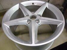 2011-2013 Chevy Corvette 19 X 10 Inch Silver Alloy Wheel # 5491 REAR # 4