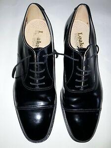 Loakes Black Oxfords size 12
