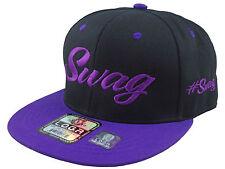 Custom Stylish Cool Swag Swag# Hat Snapback Flat Bill Cap