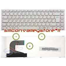 Tastiera ITA Bianco Pink Frame Sony Vaio VPC-S13I7E, VPC-S13L8E, VPC-S13L8E-B