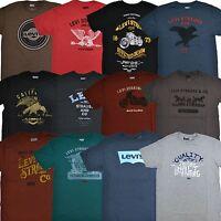 Levis T-Shirt Mens Graphic Tshirt Crew Neck Short Sleeve Tee Levi's S M L Xl Xxl