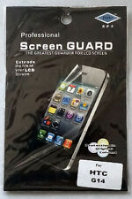 HTC G14 protège écran / screen protector  Film  New