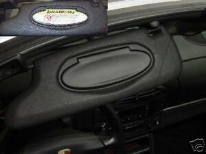 Porsche Sun visor label Cover-up decals 911 Boxster Carrera S 997 996 1997-2010