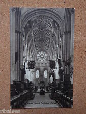 R&L Postcard: Christ Church Cathedral Oxford, Union Jack Flags 1925