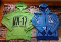 bekleidungspaket h&m yigga gr. 170 sweatshirt mit kapuze und sweatjacke