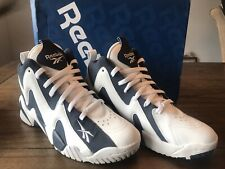 sneakers for cheap 4eefa 6781a NEW REEBOK KAMIKAZE II 2 MID SHAWN KEMP ATHLETIC BLUE WHITE