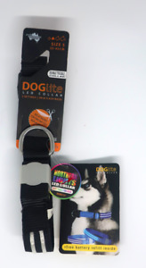 DOGlite Double Trouble LED Collar 33-43cm Size S Northern Lights