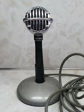 Astatic JT-30 Bullet Microphone with Stand & Cord Conneaut OH USA Art Deco Look