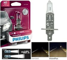 Philips VIsion Plus 60% H1 55W One Bulb Fog Light Replacement Plug Play Upgrade