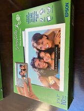 New listing 2 Epson StoryTeller Photo Book Creator - 5 in x 7 in 10-page Book Creator Paper